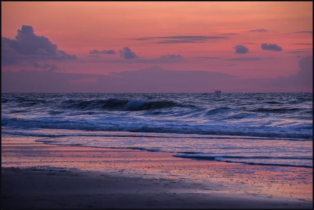 Farb-Licht-Harmonie am Meer...