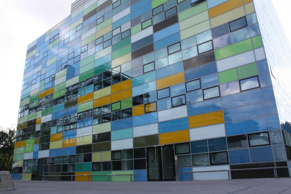 Farbe auf dem Uni-Gelände in Bochum