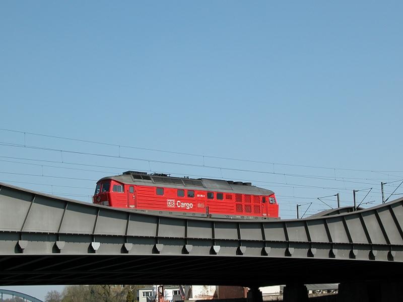 Farbe auf der Brücke