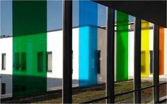 Farbe im Häusermeer