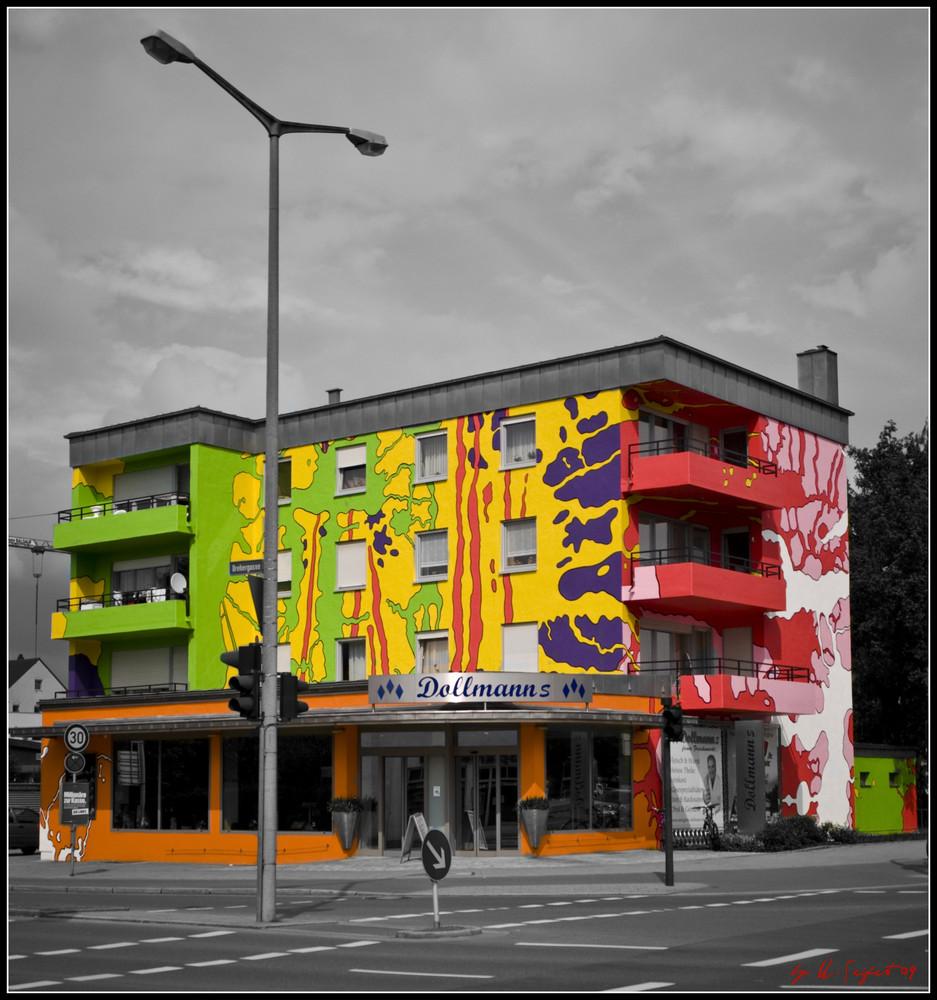 """Farbe im Spiel """"Das bunte Haus"""""""