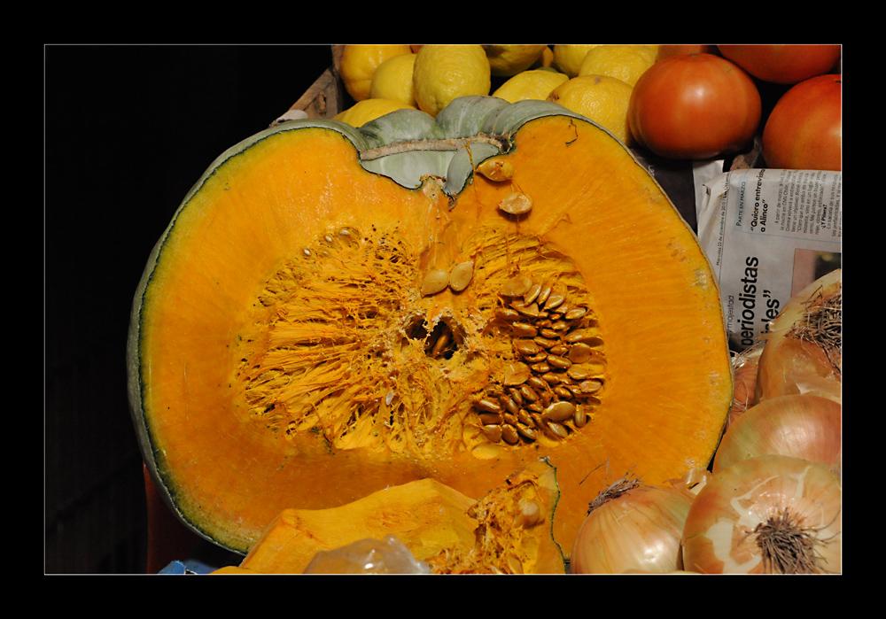 Farben auf  dem Gemüsemarkt