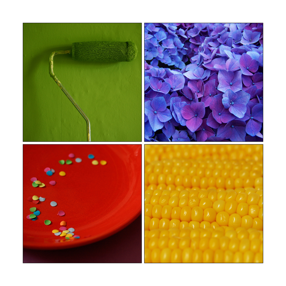 Farben der belebten und unbelebten Natur