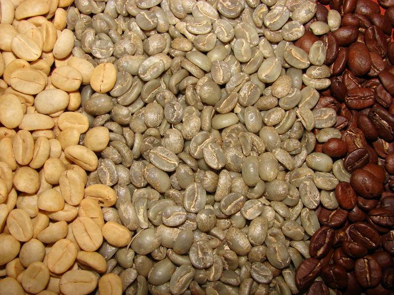 Farben des Kaffee