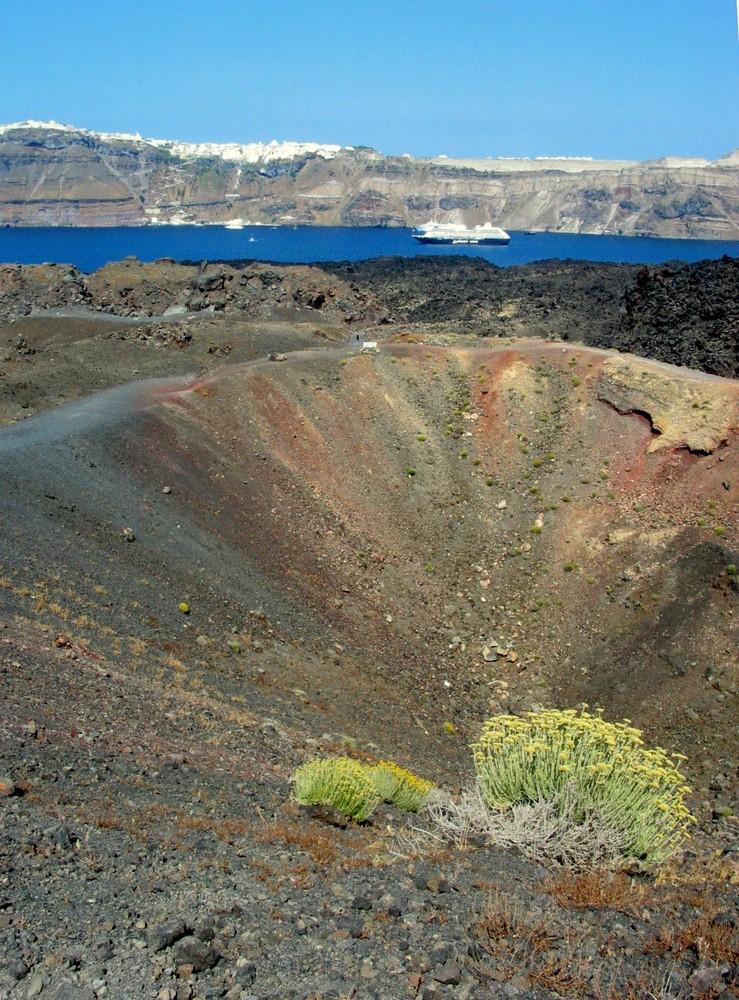 Farben des Vulkans
