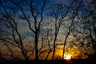 Farben eines Sonnenuntergangs