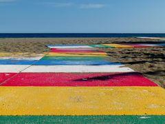 Farben im Sand