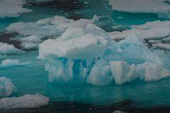 Farben von Eis
