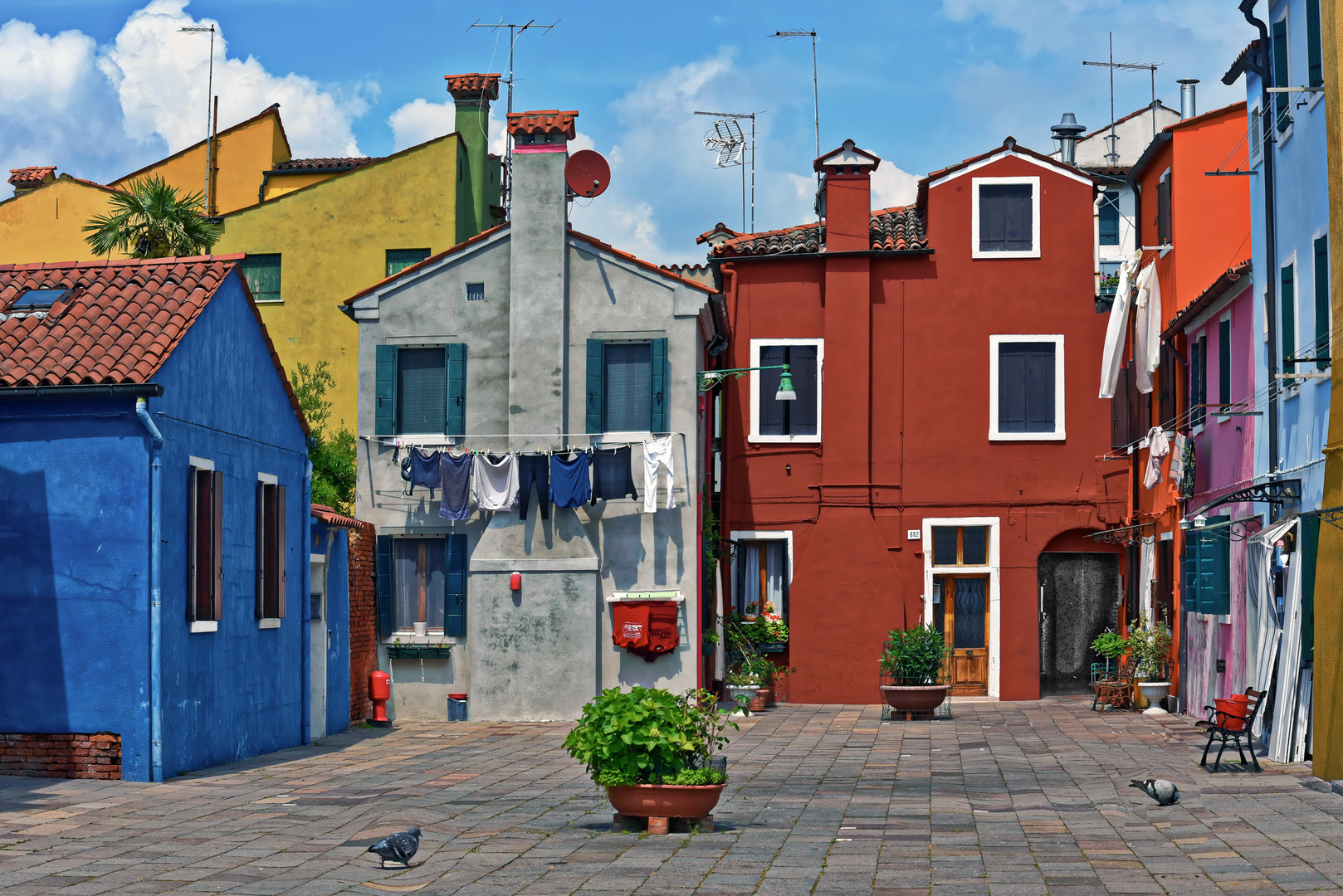 Farbenfrohes Burano - Venedigs schönste Schwester -