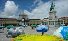 farbenfrohes Lisboa...