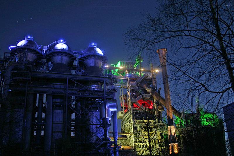 Farbenspiel bei Nacht (die zweite)