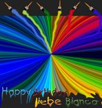 Farbexplosion für Bianca