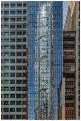 Farbig Hong Kong im Spiegel 10