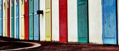 Farbige Türen
