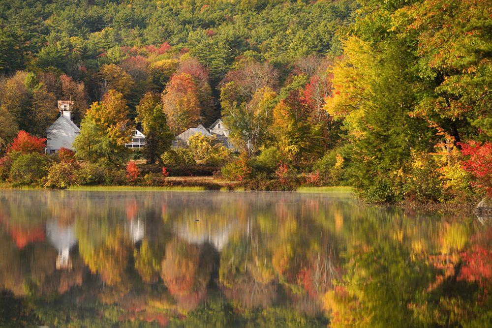 Farbiger Herbst