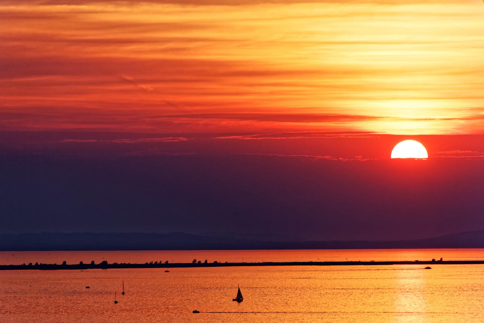 Farbpalette In Orange Foto Bild Farbe Sonnenuntergang Sonne Bilder Auf Fotocommunity