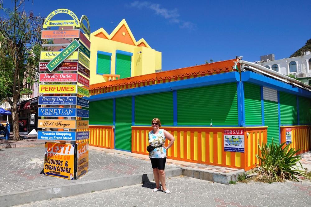 Farbrausch auf St.Maarten Philipsburg Niederländische Antillen