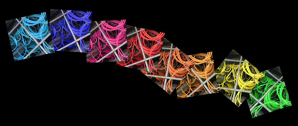 Farbspielereien mit Kabeln