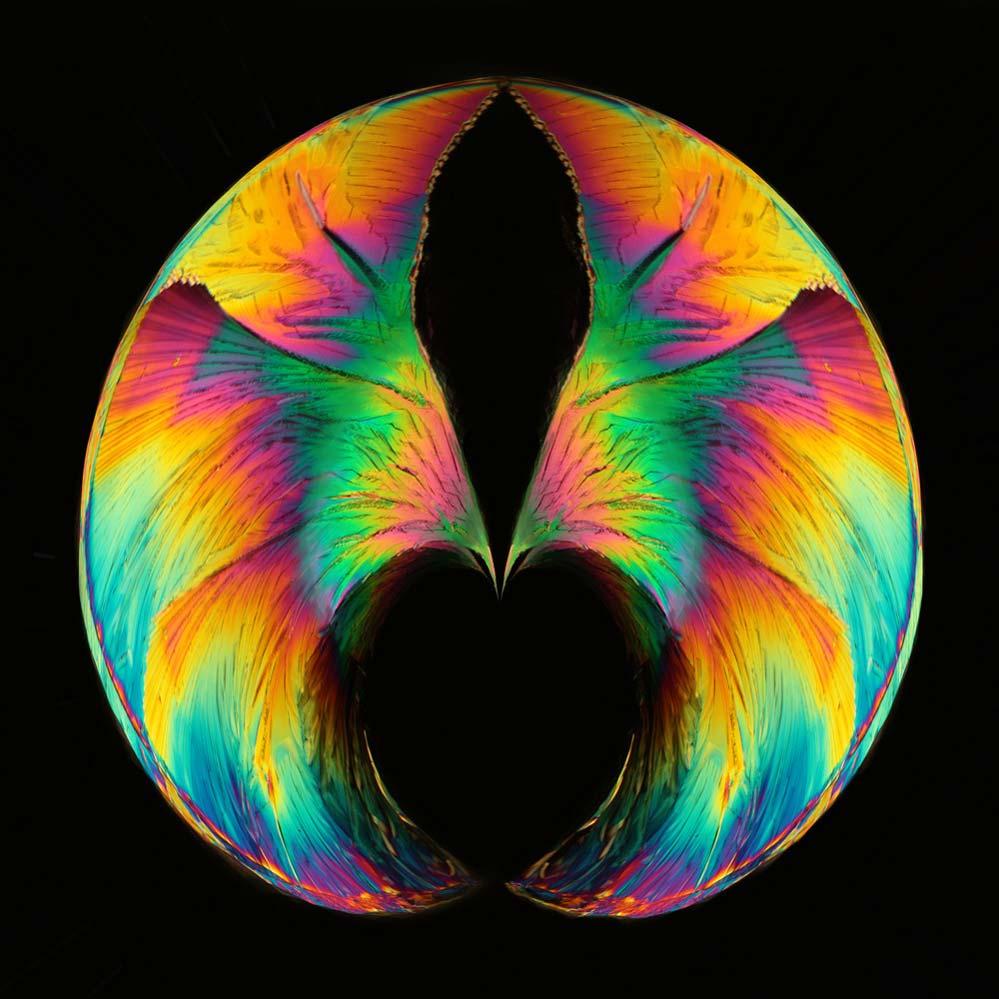Farbsymphonie mit Herz
