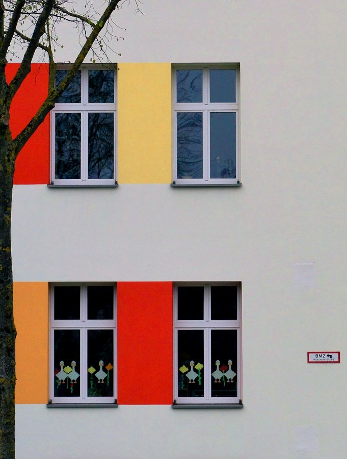 Farbverschiebung nach DIN 4066 [In-Sichten] Foto & Bild | fenster ...