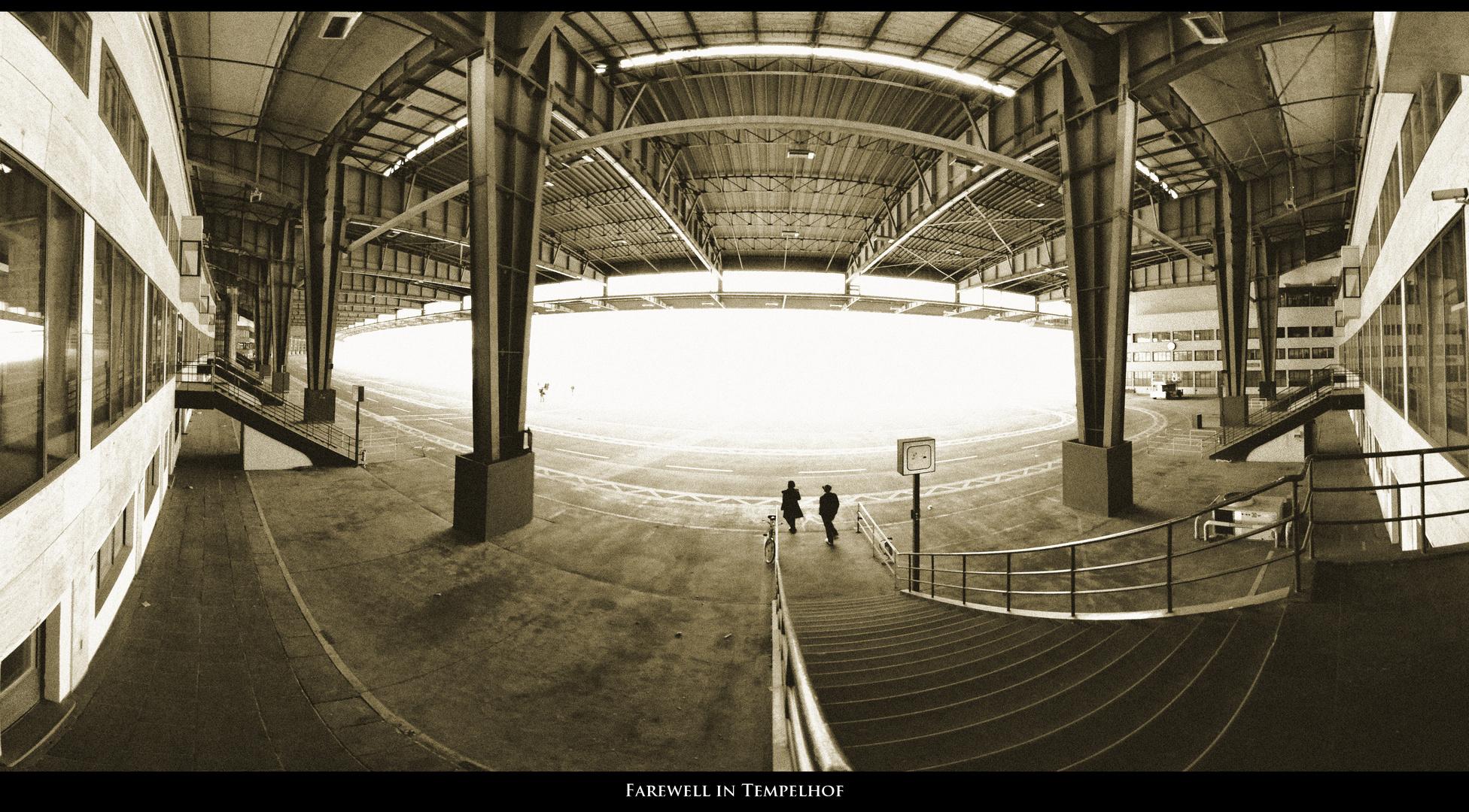Farewell in Tempelhof