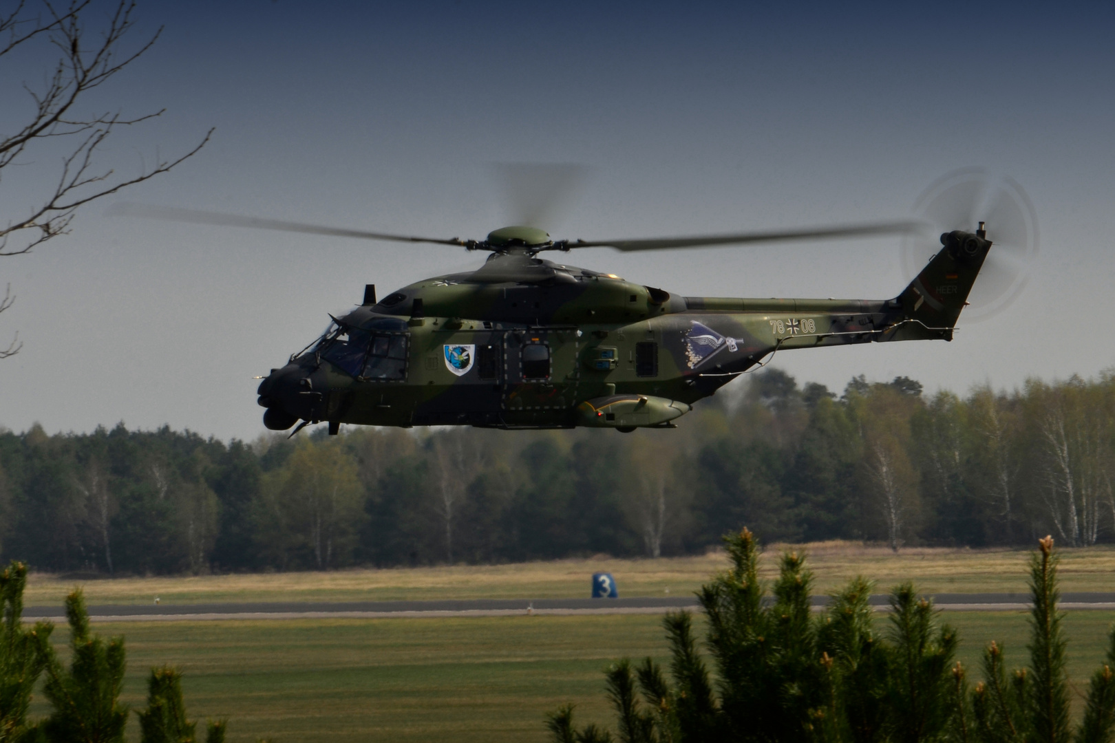 Farewell NH90 in Holzdorf