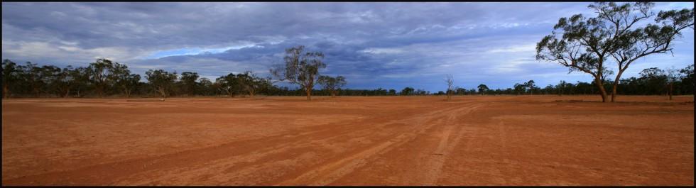 Farmland im Outback