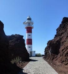 Faro de Teno, Weg zum Leuchtturm