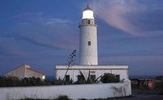 Faro della Mola al tramonto