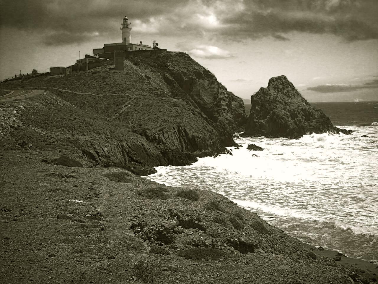 Faro en Cabo De Gata