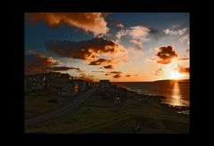 Faroe islands: whon the sun goes to sleep