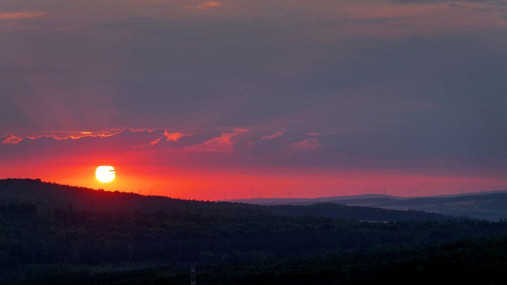 Farrod Sonnenuntergang