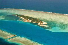 Farukolhufushi aus ca.1500m Höhe