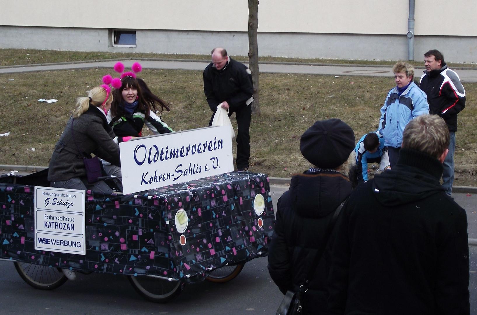 Faschingsumzug in Kitzscher am 06.03.2011
