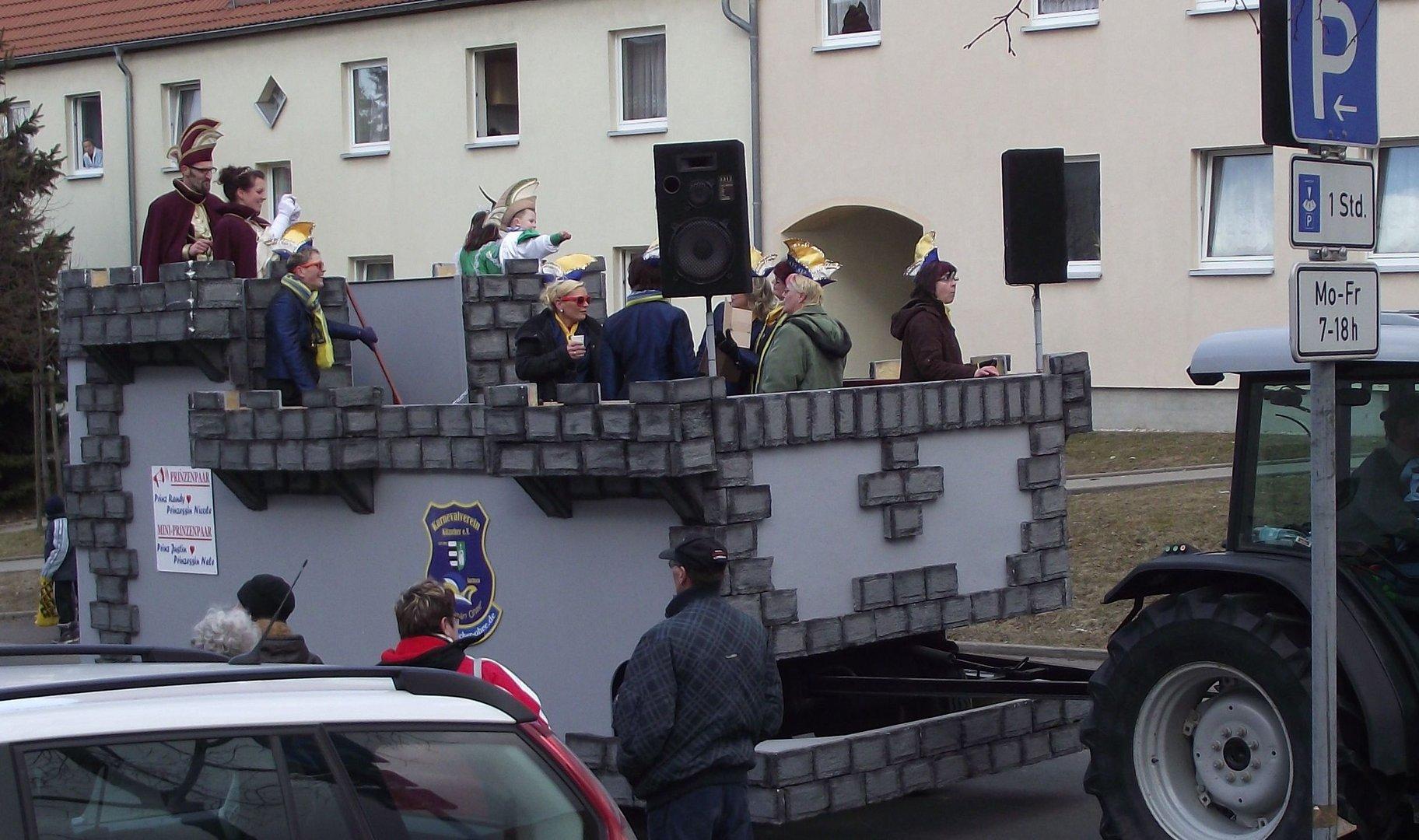 Faschingsumzug in Kitzscher am 06.03.2011 ( b )