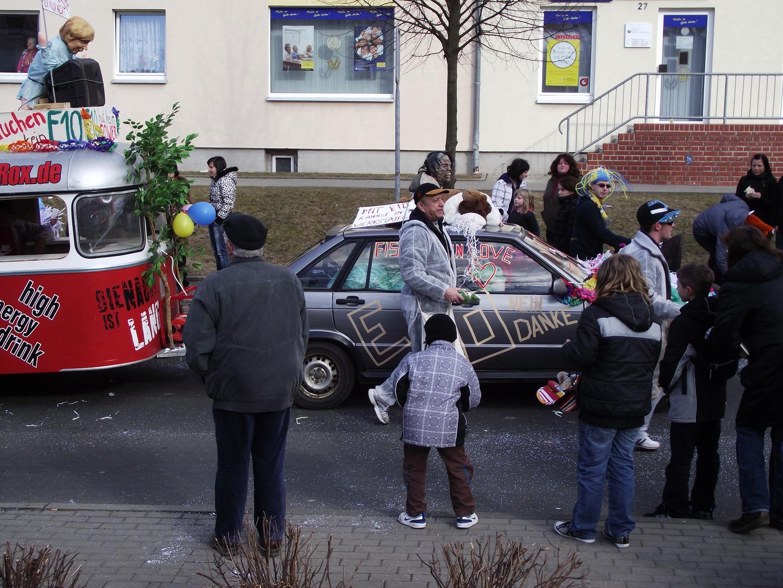 Faschingsumzug in Kitzscher am 06.03.2011 ( f )