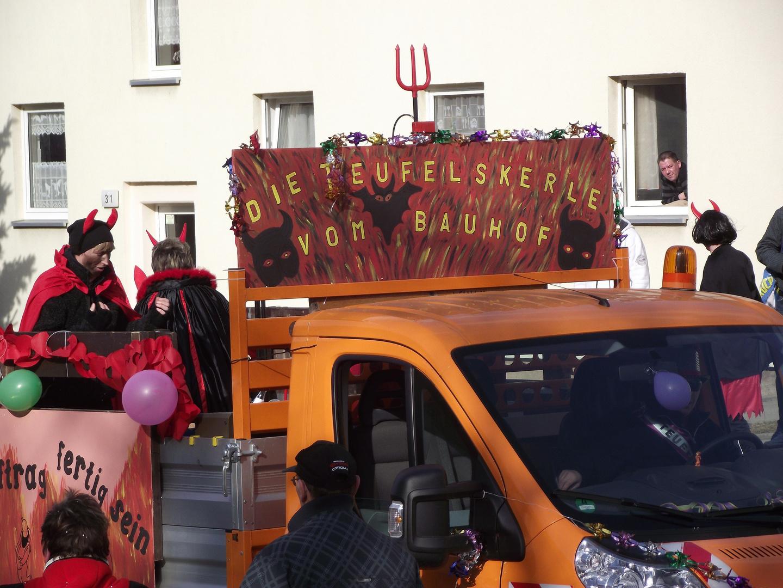 Faschingsumzug in Kitzscher am 06.03.2011 ( g )