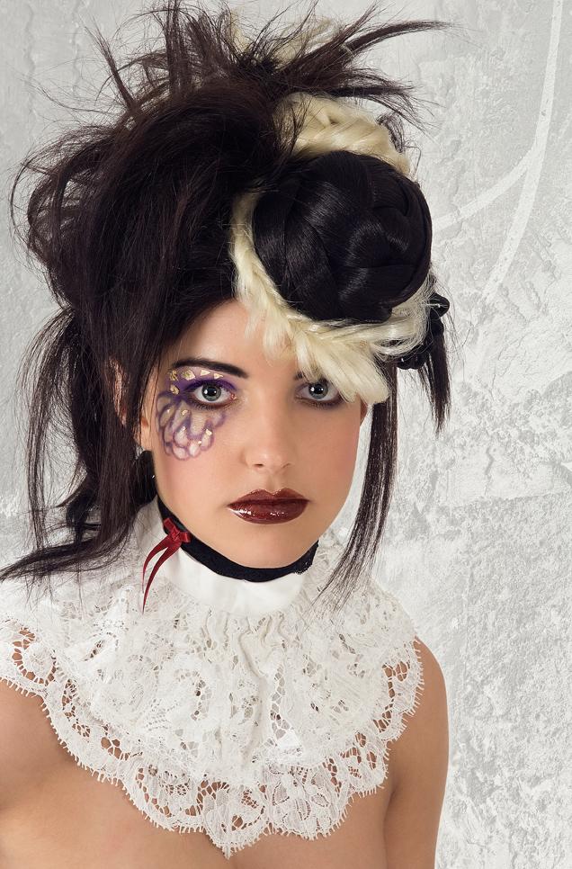 Fashion Flechtfrisuren und Make up 05