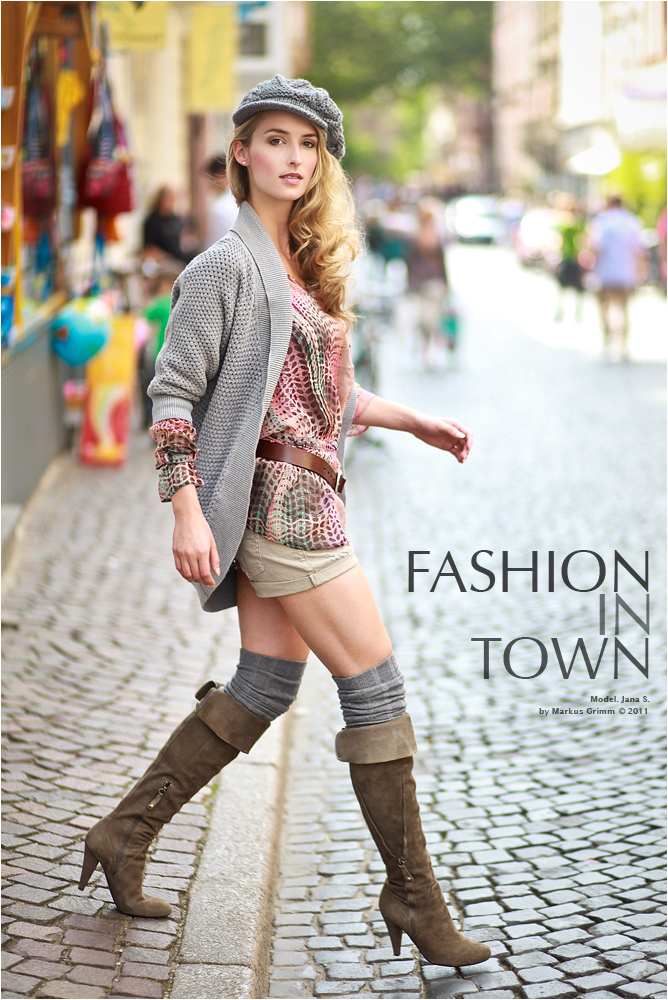 .Fashion in Town.