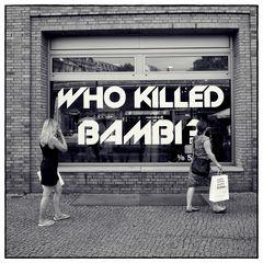 Fashion killed Bambi !