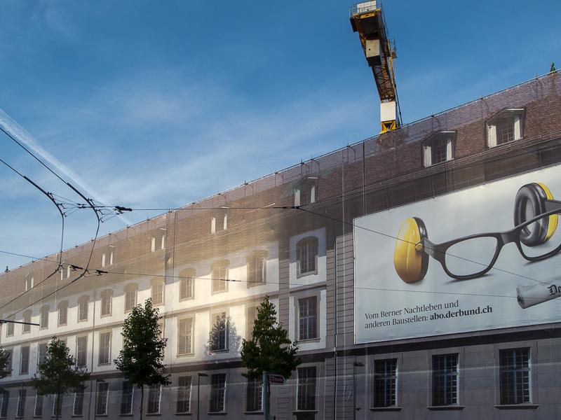 Fassade Burgerspittel Bern