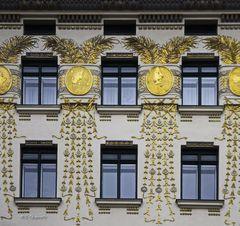 Fassade eines Wohngebäudes, Wien
