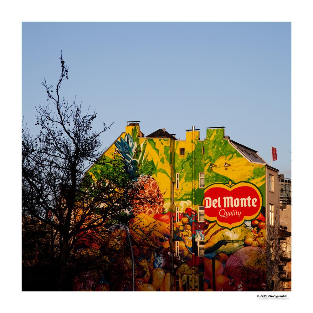 Fassade - farbenfroh