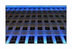 Fassade in Blau