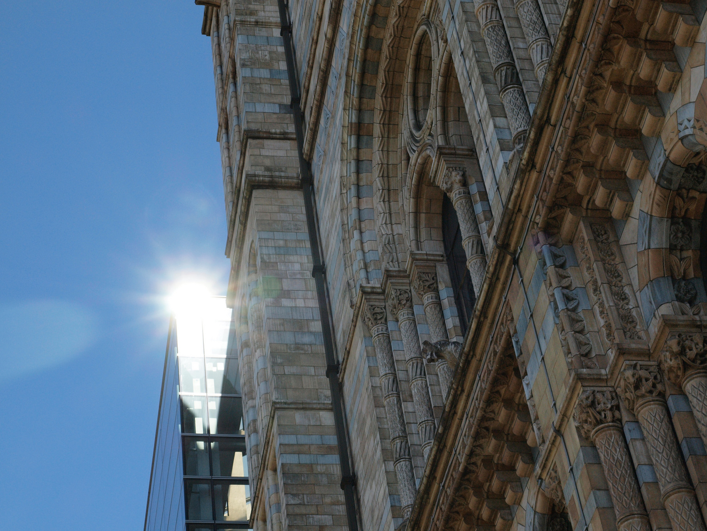 Fassade in der Sonne, History Museum London