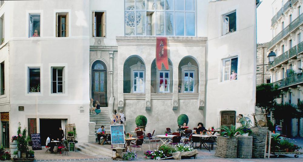 Fassade in Montpellier