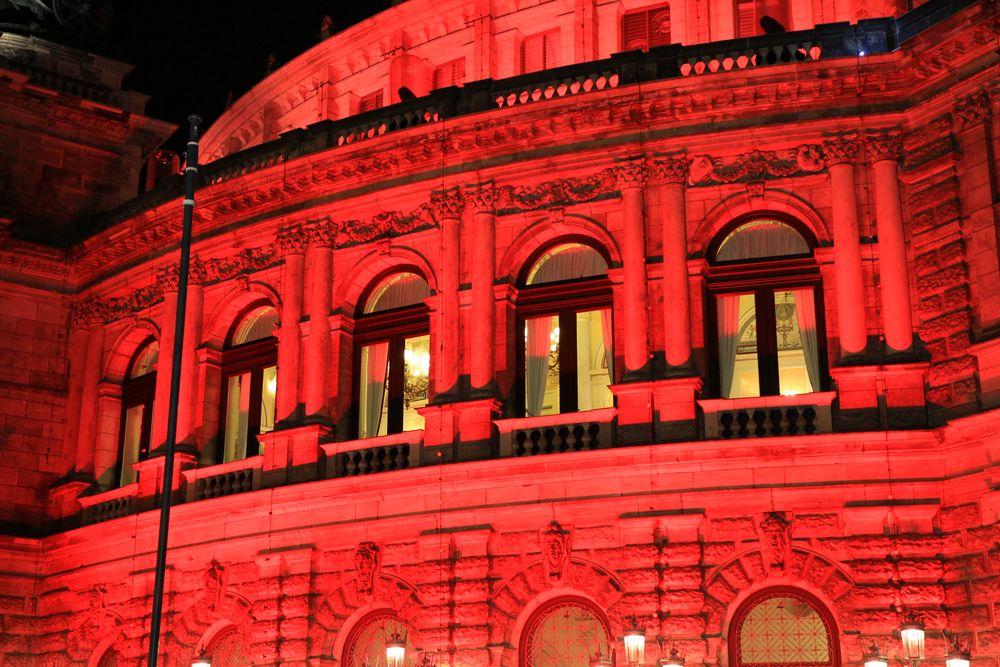 Fassade in Rouge