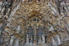 Fassade Sagrada Familia