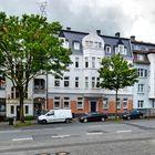 Fassaden an der Nevigeser Straße