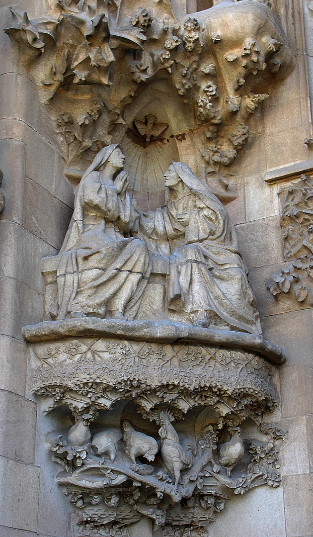 Fassaden-Detail Sagrada Familia